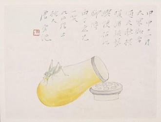 桑莲居 | 药翁唐云绘画中的友情因素